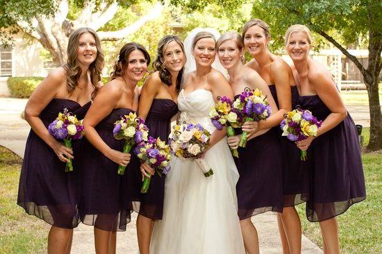 October bridesmaid dress colors green