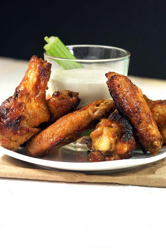 Sweet and Spicy Ginger Oven Wings | Chick (en) Magnet | Pinterest ...