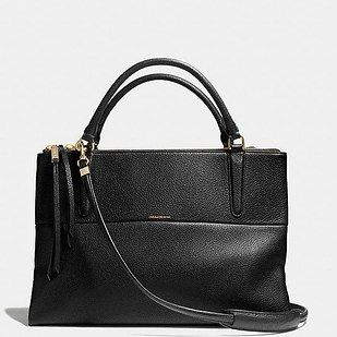 """Coach """"Borough"""" Bag, $598   21 Accessories For Obsessively Organized Women"""