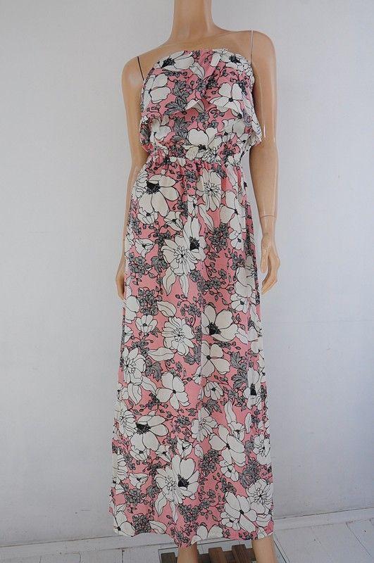Sukienka Letnia Kwiaty Maxi R 38 Stella Vinted Maxi Dress Dresses Silk Dress