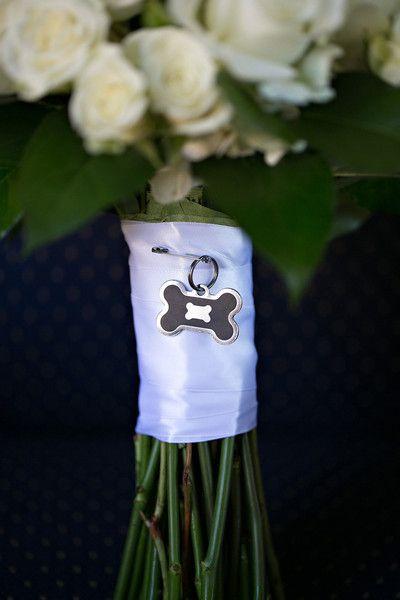 Dog Memorial Wedding Bouquet Charm 3