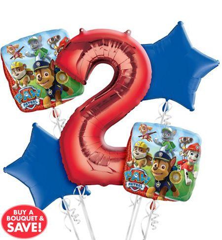 PAW Patrol 2nd Birthday Balloon Bo...