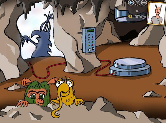 Die Höhle von Mumbro & Zinell betreten