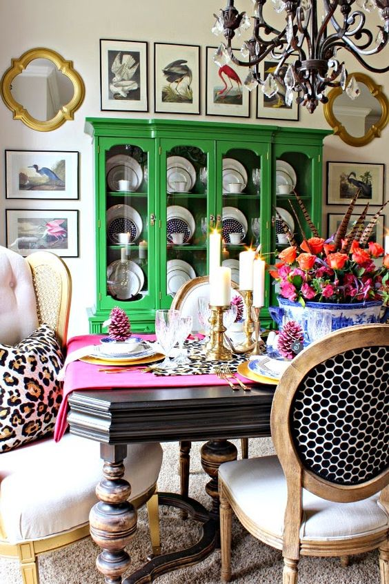 Personal style through color, pattern and texture- Dimples and Tangles: MY THANKSGIVING TABLE: BLOGGER STYLIN' HOME TOURS: