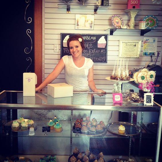 Mmm #cupcakes! Grab a sweet treat at the adorable SugarBean Cupcakes ...