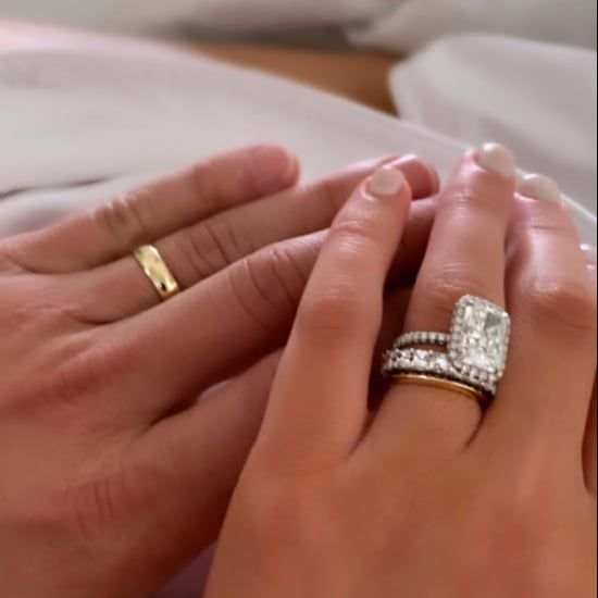 50 Reasons We Want To Copy Michelle Obama S Style Celebrity Wedding Rings Celebrity Engagement Rings Giant Engagement Ring