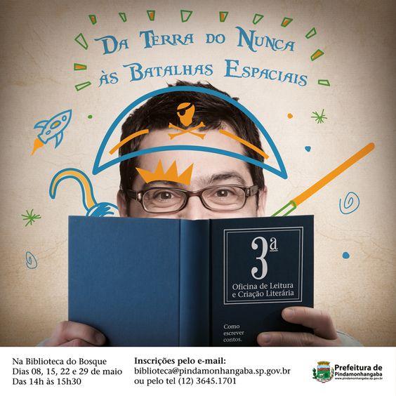 3ªoficina de Leitura, Literatura e Criação Literária - 2015 | Prefeitura de Pindamonhangaba
