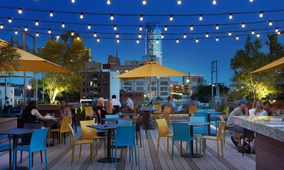 Ambiance Matchmaking's 2016 guide to Oklahoma City's best date venues with a rooftop.