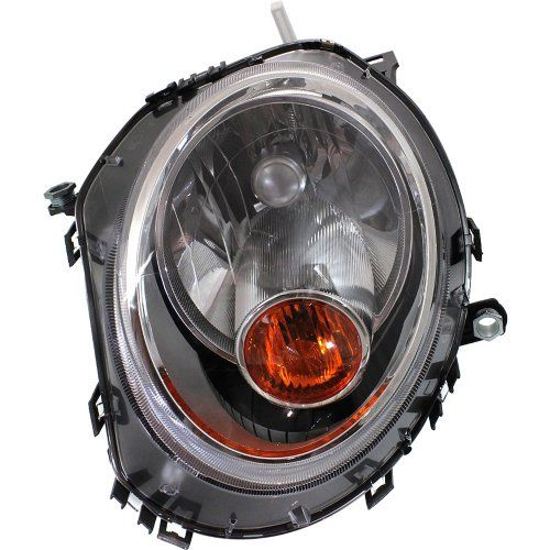 2007 2013 Mini Cooper 1 6l Headlight Assembly Mc2502105 63122751869 Partzroot Mini Cooper Headlights Halogen