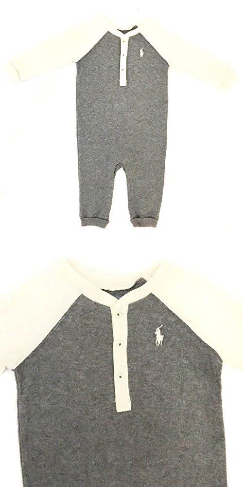 Ralph Lauren Polo Baby Boys 3 Button Henley t Shirt 3 mths