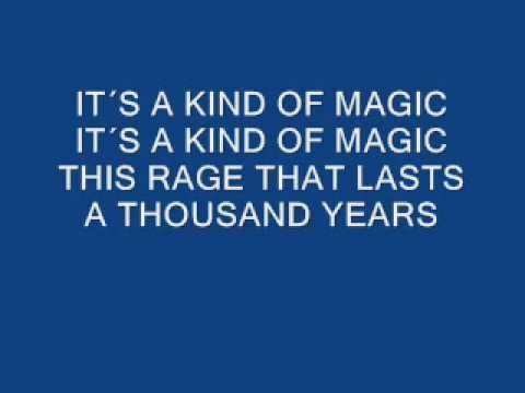 Queen A Kind Of Magic Lyrics Youtube A Kind Of Magic Queen Lyrics Queen Albums