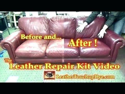 Bonded Leather Sofa Ling, Leather Furniture Repair Kit