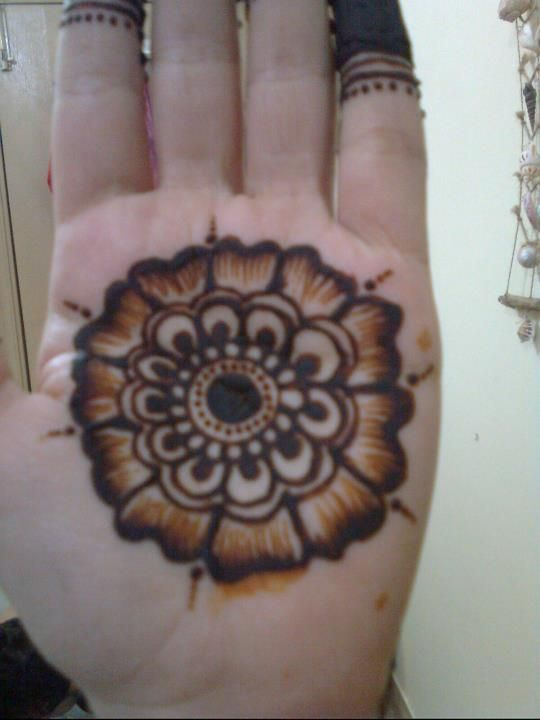 Easy Mehndi Patterns To Copy : Simple arabic mehendi design collection includes images of