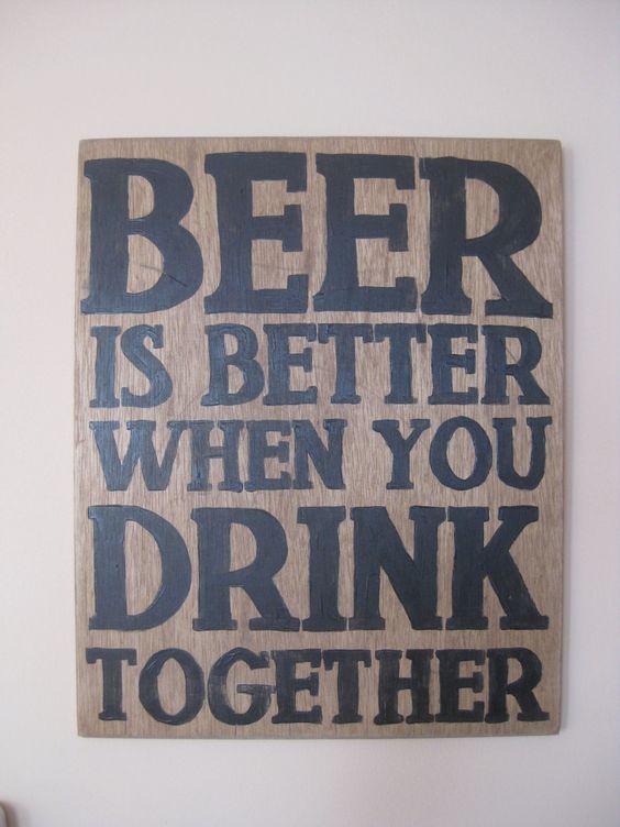 Beer sign . $85.00, via Etsy.