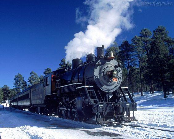 Papel de Parede - Locomotiva