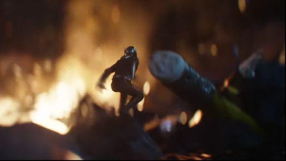 Still from new Avengers: Endgame trailer