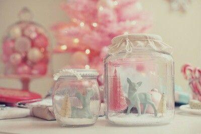 Pink things & jars