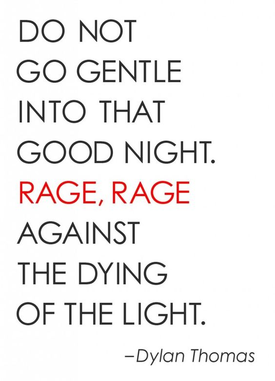 an analysis of the meaning of the poem do not go gentle into that good night by dylan thomas Writer dylan thomas is best known for the poem do not go gentle into that good night and the play under milk wood he's also known for his heavy drinking, which.