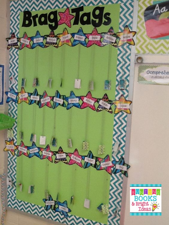 *Bunting, Books, and Bright Ideas*: Celebrating Students with Printable Brag Tags {Freebie Alert!}: