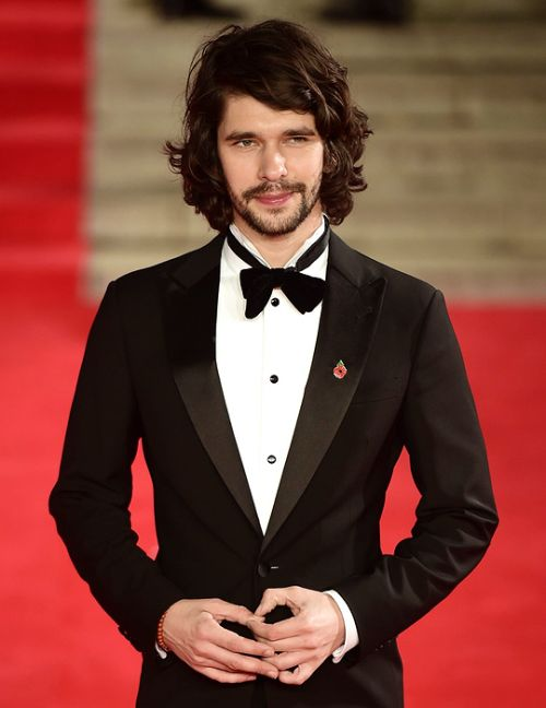 """Ben Whishaw, who plays boffin Q, was dressed by Giorgio Armani for the big night"", SPECTRE World Premiere at Royal Albert Hall, 26 October 2015"