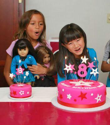American Girl Doll Birthday Party Ideas