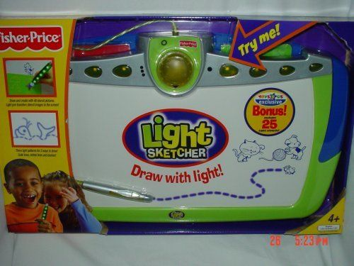 Fisher Price Light Sketcher with Exclusive 25 Bonus Light Stencils >>> Want to know more, click on the image.