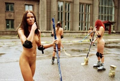 Think, Naked teen girls hockey are not