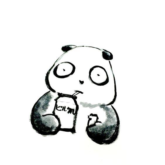 【一日一大熊猫】2015.12.4 ヤクルトはあんなに少量なのに ピルクルは大きいパックで売ってるから あんなに飲んで大丈夫? 物凄い数の乳酸菌が体の中に入ってくる。 あ、ピルクル大好きです。 #pandaJP #ピルクル #ヤクルト #乳酸菌