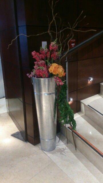 Arreglo floral para vestíbulo