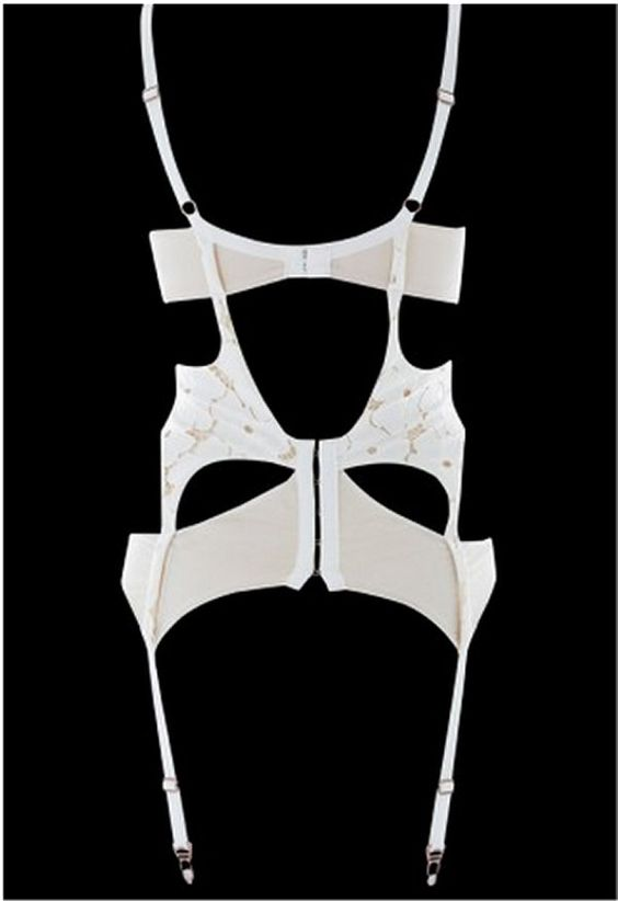 Lucy Lace Basque Ivory #Lascivious #underwear #lingerie #bridal #mariage #blanc #blog #bloglingerie #lebloglingerie