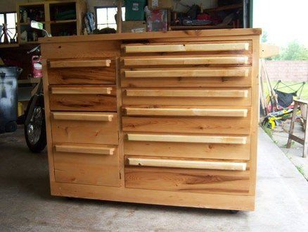 My Homebuilt Tool Chest Tool Chest Tool Storage Diy Wood Tool