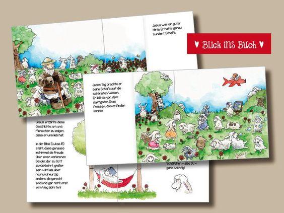 """Erzählende Literatur - Kinderbilderbuch """"JOSUA, der gute Hirte"""" - ein…"""