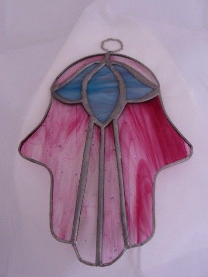 hamsa glassdecoration #rilsar