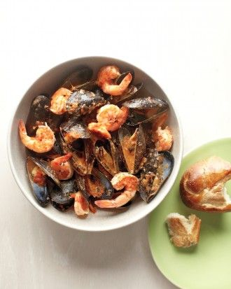 Shrimp and Mussels with Sofrito | Recipe | Mussels, Tapas Party and ...