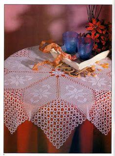 SANDRA CROCHE: Nappe
