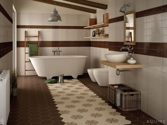 CERAMIC FLOOR TILES HARMONY BY EQUIPE CERAMICAS