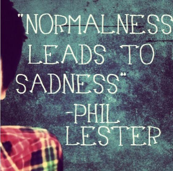 Depression Quotes Youtube: Phil Lester Amazingphil YouTube Quote