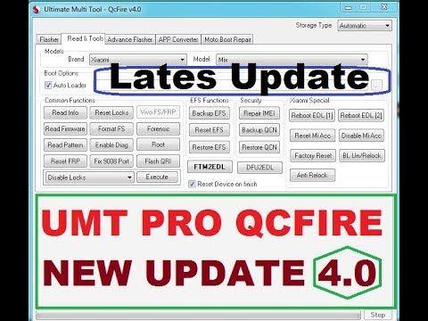 UMT Dongle Latest Setup: UMT QC Fire (v4 0) -Full Update