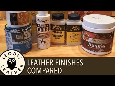 leather finishes compared 40 mins hd youtube
