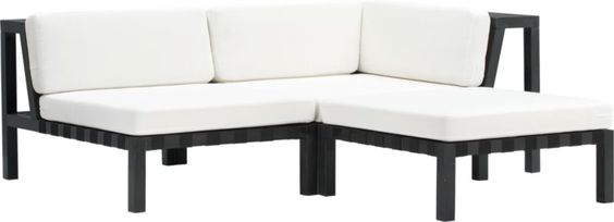 islita outdoor sectional pieces in outdoor furniture CB2