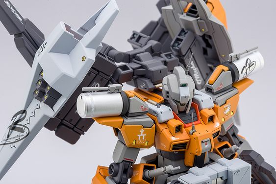 GUNDAM GUY: HG 1/144 Cardigan Gundam Advanced - Custom Build
