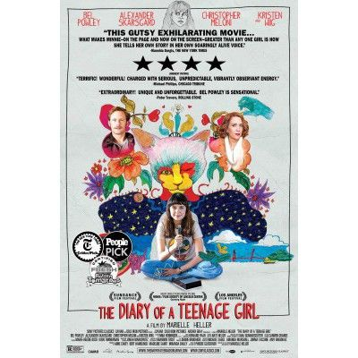 The Diary of a Teenage Girl Movie Poster #4