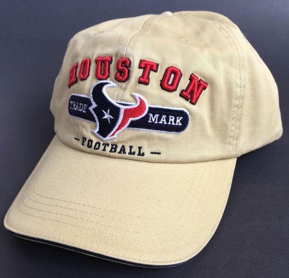New Houston Texans Football Hat Cap Steer Bull Trade Mark #HoustonTexans