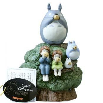 Studio Ghibli My Neighbor Totoro Ceramic Music Box