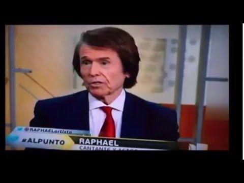 """RAPHAEL EN PROGRAMA """"AL PUNTO"""" DE   UNIVISION 06 MARZO"""