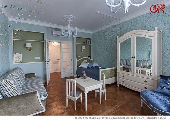 Дизайн детской в ЖК «Дом на Давыдковской»  http://www.ok-interiordesign.ru/ph_dizain-detskoy-komnaty.php
