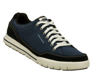 Men's Skechers Relaxed Fit: Arcade II - Amenity - Navy