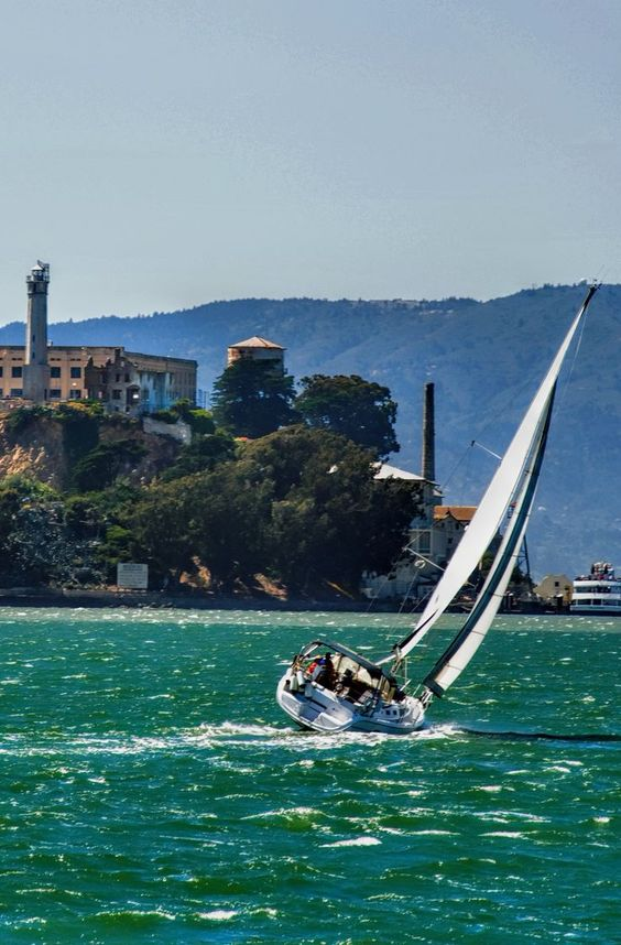 Alcatraz. California.