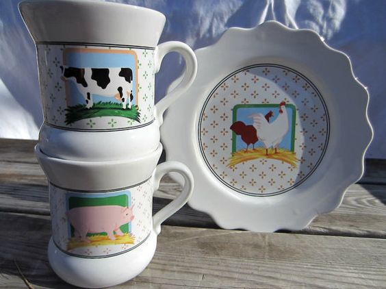 Vandor pelzman country coffee set