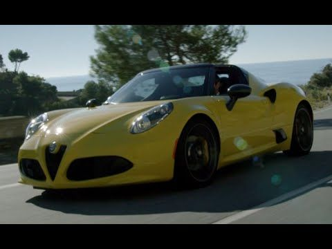 NEW #ALFA ROMEO 4C SPIDER 2015 - FIRST TEST DRIVE ONLY SOUND